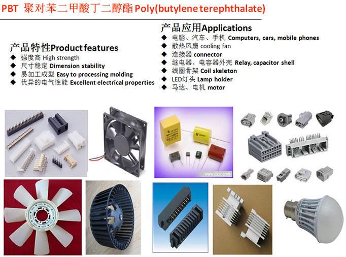 pbt产品应用